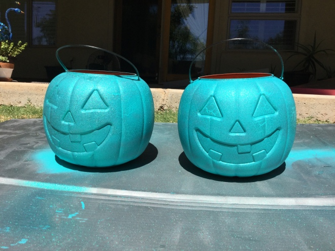 diy-halloween-decor-teal-pumpkin-project-painted